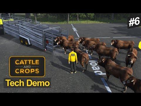 ÖKÜZLER BİZİ UĞRAŞTIRIYOR! - Cattle and Crops Tech Demo v0.0.9.5 #6