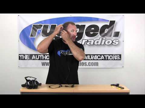 Rugged Radios Throat Microphone