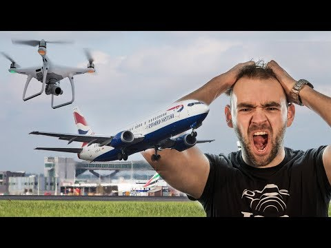 Will DRONES be banned after Gatwick airport is closed for 2 days??