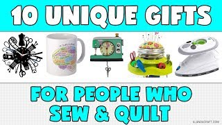 10 Unique Gifts For People Who Sew & Quilt (that You Can Get On Amazon)