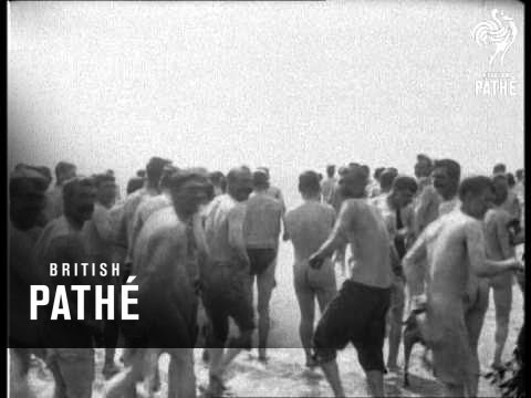 Bathing Parade 1914 1918 Youtube