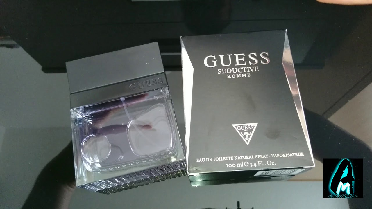 Guess Seductive Homme Mens Fragrance Review