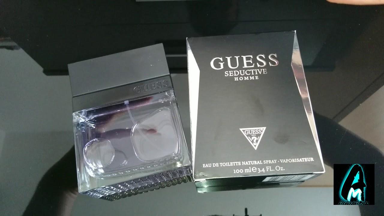 f62549da8a46d5 Guess Seductive Homme Mens Fragrance (Review) - YouTube