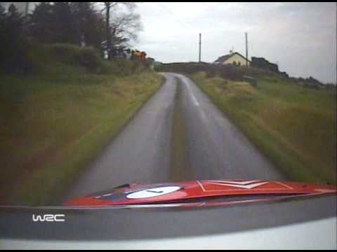 WRC Rally Ireland 2007 - Loeb C4 WRC.Full Stage On Board - Pure Magic!