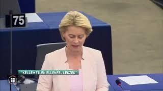 Ursula von der Leyen: Kemény ellenfél leszek! 19-07-16