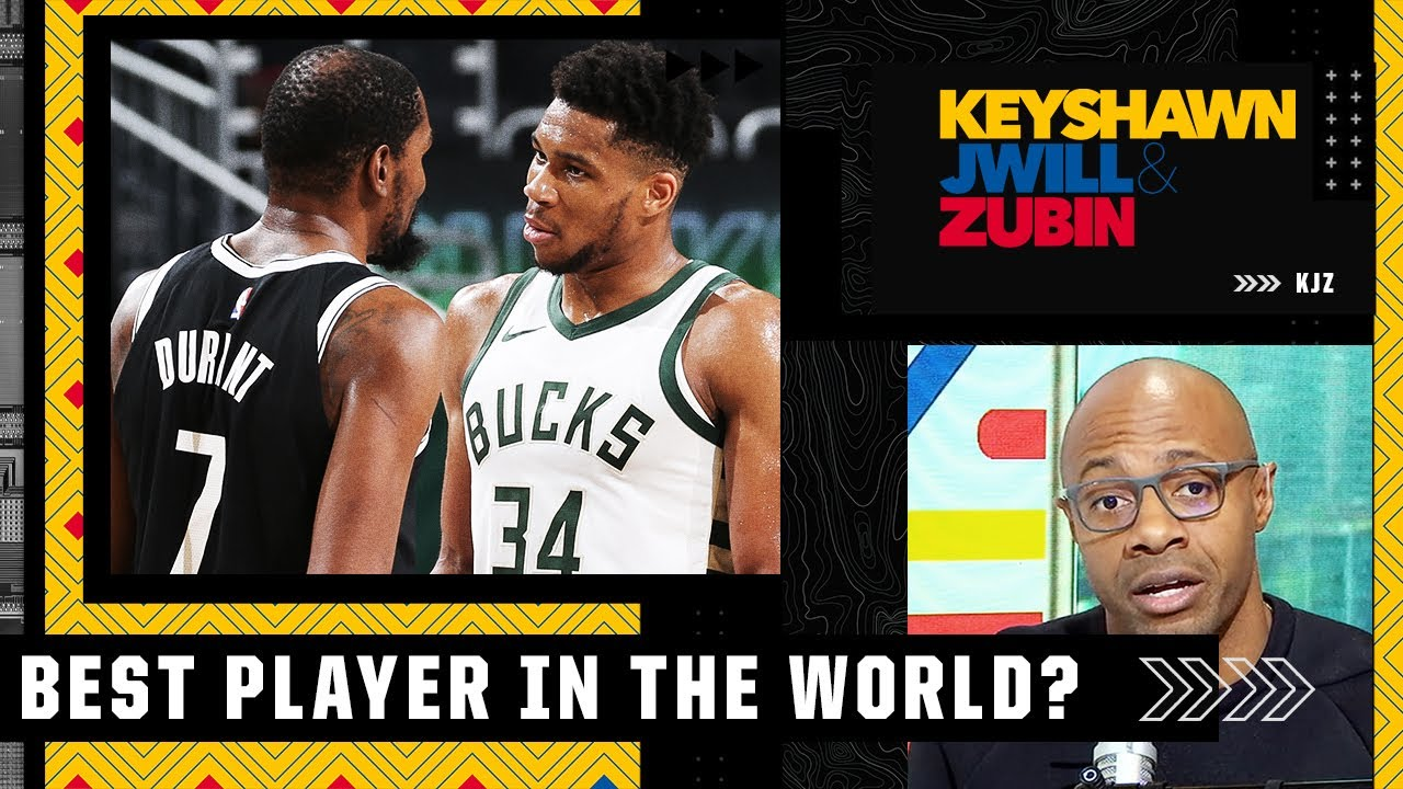 JWill has a problem with Giannis calling Kevin Durant 'the best player in the world' after Game 5