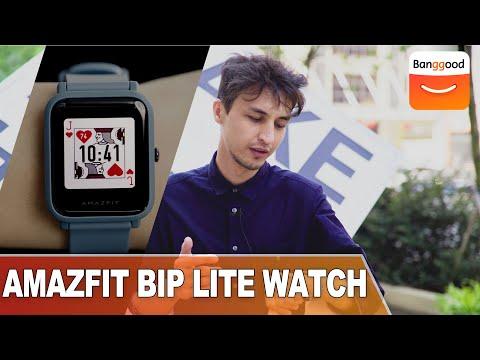 Original Amazfit Bip Lite  45 Days Battery  3ATM 32 Grams Weight  Buy At Banggood