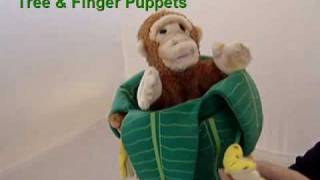 "Little Pickle Toys - Toy Review ""The Puppet Company Monkey in a Tree & Finger Puppets"""