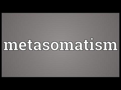 Header of metasomatism