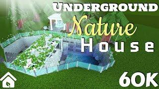 [ROBLOX - BLOXBURG] UNDERGROUND NATURAL HOUSE -60K-