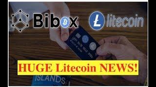 ALERT: The New Litecoin Debit Cards will SAVE THE WORLD!! (Bix Weir)