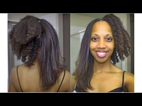 natural hair flat iron styles silky hair irresistible me flat 5646 | hqdefault