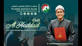 Download Mp3 Pembacaan Ratib Al-haddad | R. Muhammad Farhal Azkiya