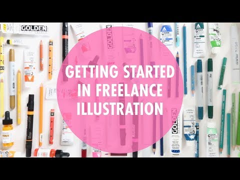 How to Get Started as a Freelance Illustrator