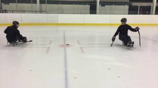 Skill - Backhand Stationary Passing