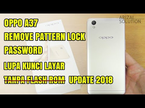 Unlock Remove Forgot Password Pattern Oppo A37 | Bypass Frp Remove Google Account 2018