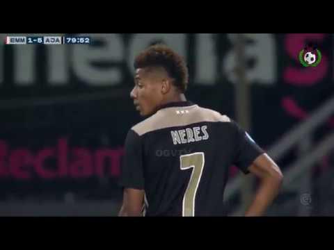 David Neres VS FC Emmen Away  APR 3 2019 (Insane Performance) HD