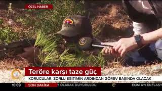 Güvenlik korucuları İzmir'de eğitime başladı