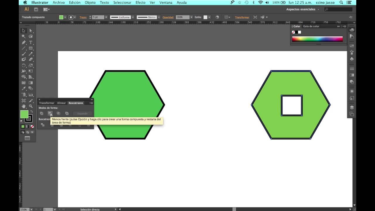 como cortar una imagen en illustrator