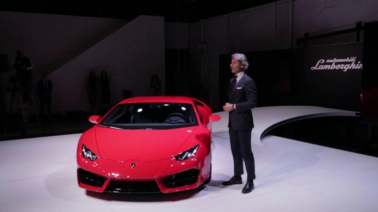 Lamborghini Huracán LP 580 2: Global Debut In Los Angeles   YouTube