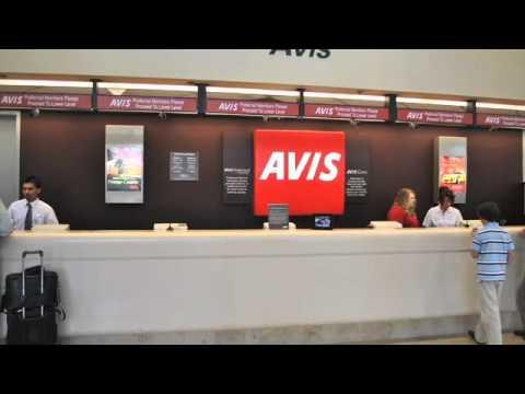 John Wayne Airport Sna Finding Your Way To The Avis Car Rental