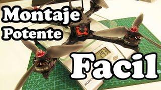 COMO MONTAR UN DRONE DE CARRERAS MUY FACIL DE HACER Emax HAWK 5