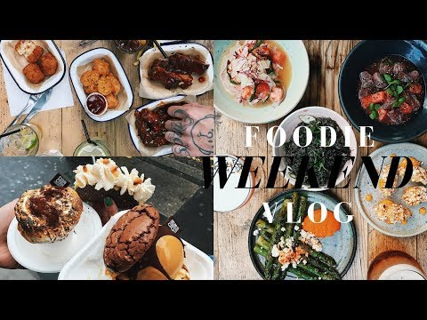 WEEKEND VLOG | AWAKE FOR 32 HOURS & FOODIE EVENT