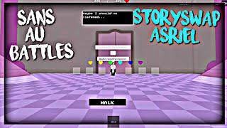 Roblox Sans Au Battles: StorySwap Asriel (Solo)