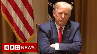 Trump: Supreme Court ruling a 'witch hunt' and 'hoax' - BBC News