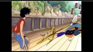 One Piece - Luffy gomu gomu no boh (funny moment Skypiea)