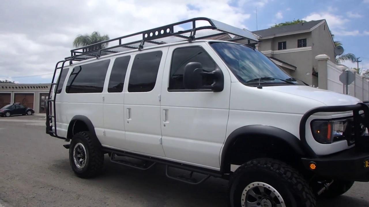 1999 ford e350 van 4x4 7 3 diesel 15 passenger youtube. Black Bedroom Furniture Sets. Home Design Ideas