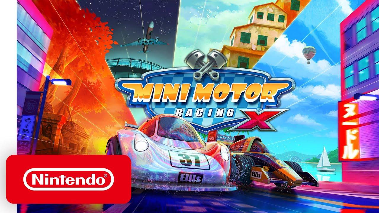 Launch Trailer για το Mini Motor Racing X