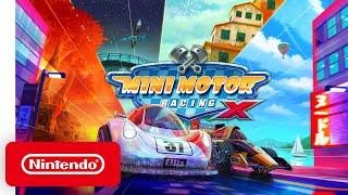 Mini Motor Racing X - Launch Trailer - Nintendo Switch