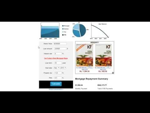 Midland Mortgage Calculator Extra Payment - YouTube