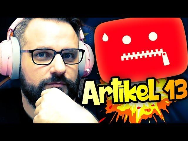 GRONKH ÜBER ARTIKEL 13!! 🔒⛔️ - Best Of Gronkh 🎬 ( Livestream 08.02.2019)