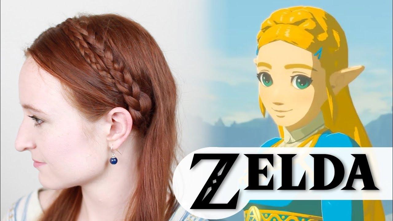 Zelda Breath Of The Wild Easy Hair Tutorial