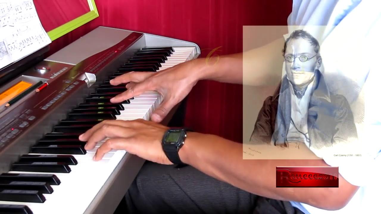 czerny el primer maestro de piano pdf