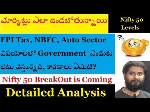 మార్కెట్లు ఎలా ఉండబోతున్నాయి? Nifty 50 technical levels, why government delaying stimulus package?