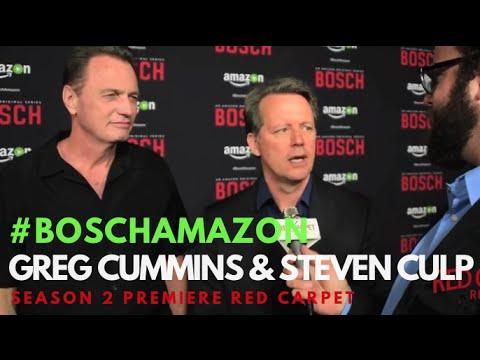 "Greg Cummins & Steven Culp at the ""Bosch"" Season 2 Premiere from Amazon #BoschAmazon"