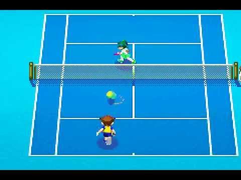 Mario Tennis Power Tour (GBA) - 6 Games Set - Pro Exhibition Match