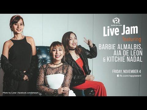 Rappler Live Jam: Aia de Leon, Barbie Almalbis, Kitchie Nadal