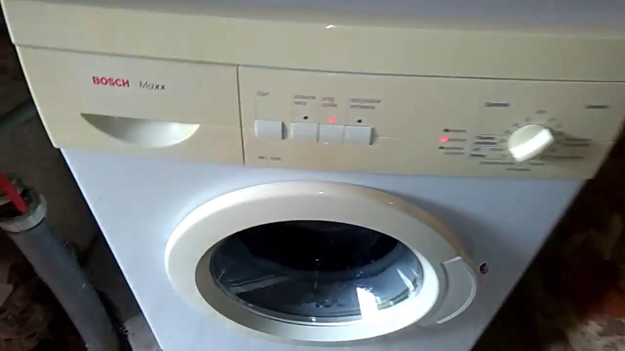 Bosch Maxx 1000 Washer Instruction manual and installation ...