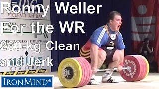 IronMind Big Lift Series: Ronny Weller 260-kg Clean and Jerk