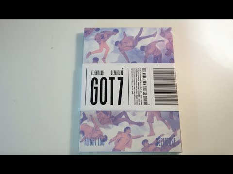 Unboxing GOT7 갓세븐 5th Mini Album Flight Log: Departure (Serenity Version)