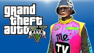 GTA 5 PC Online - TRANSFORM! - (RACE TO THE FINISH!)