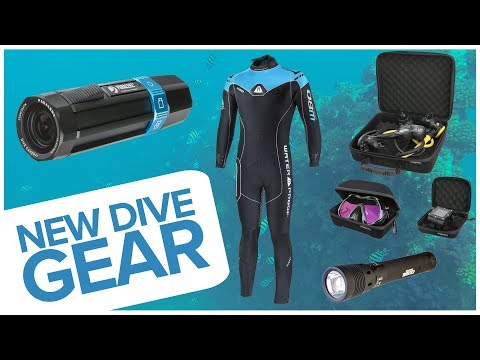New Dive Gear - August 2018