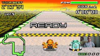 Let's Play F-Zero - MaxVelocity I Part 146 I die Jet-Crystal-Pawn-Duelle