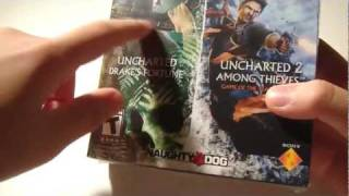 Uncharted Dual Pack Unboxing (Must Buy For PS3 Owners)