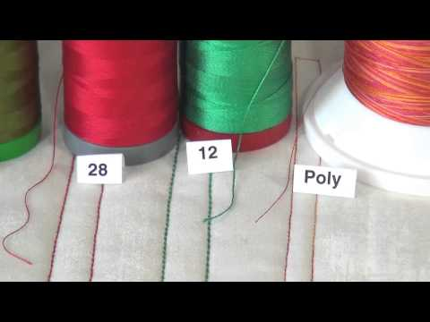 Understand Aurifil Thread Weights