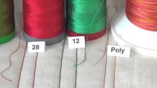 Understand Aurifil Thread Weights